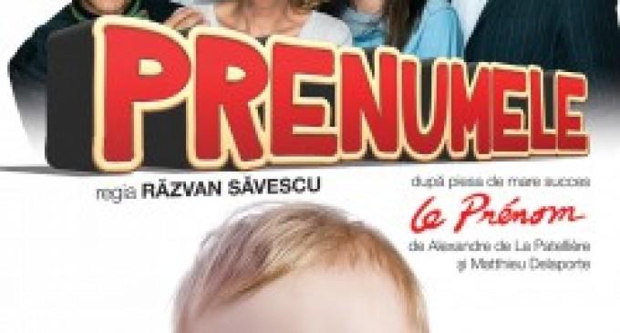 O reuşită a unei piese de excepţie -Prenumele -în regia lui Răzvan Săvescu