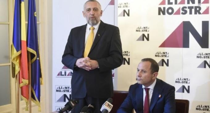 Marian Munteanu şi Aurelian Pavelescu au lansat şi promovat platforma Alianţa Noastră România şi la Constanţa!