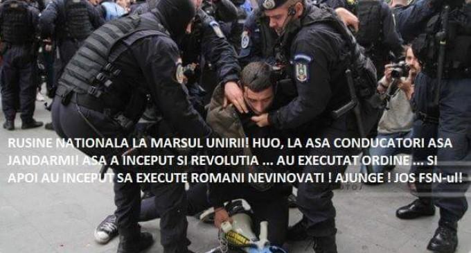 Impresii de după Marșul unionist -Luptă pentru Basarabia