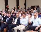 Aspecte ale unei ședințe mai tensionate de Consiliu Local Municipal al Constanței