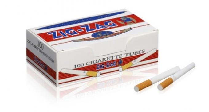 Tuburi de țigări ieftine pentru plăcerea de a fuma o țigară realizată manual