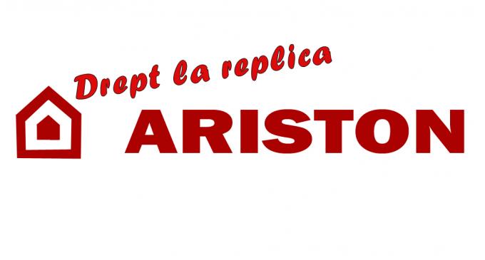 Dreptul la replica –  Ariston Romania