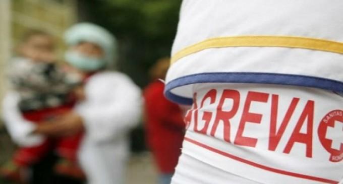Protestele celor din Sănătate încep de luni și vor culmina cu o grevă generală anunțată pentru 31 octombrie!