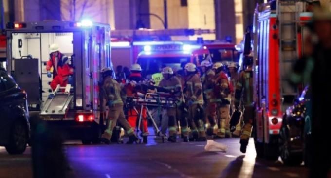 Târgul de Crăciun din Berlin a fost ținta unui atac terorist este de părere Angela Merkel