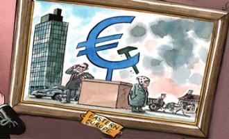 Criza fara precedent in Europa! Moneda Euro a scazut la minimul istoric