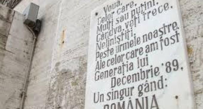 Memento Timișoara 1989…