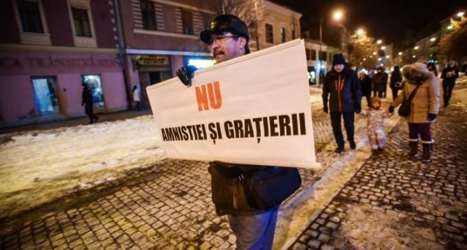 Cel mai mare protest din ultimii ani în România