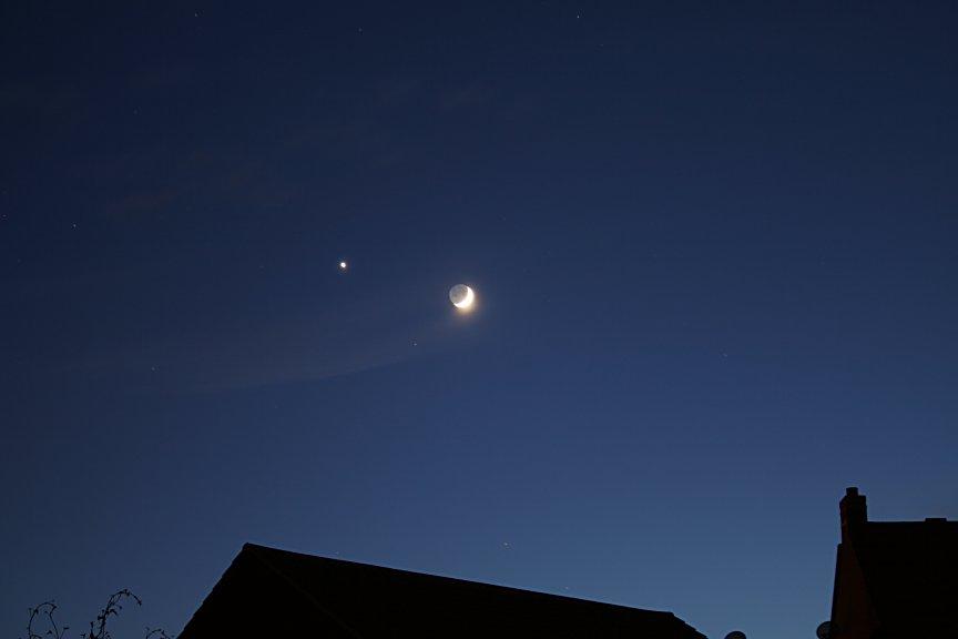 moon and venus 2017 - photo #25