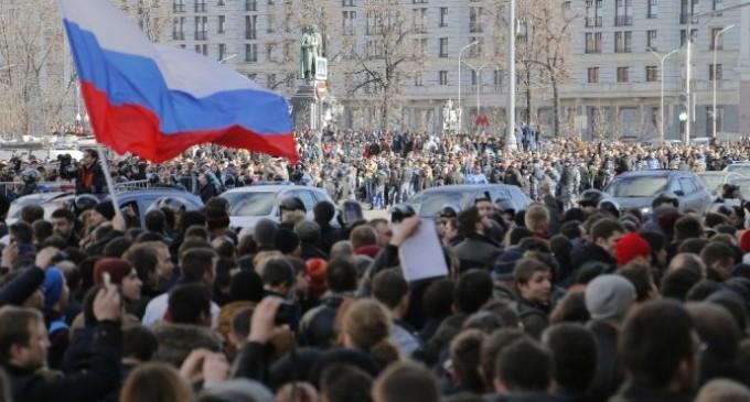 Liderul opoziției din Rusia Alexei Navalny a fost reținut pe fondul ultimelor proteste anti-guvernamentale
