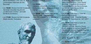 Eveniment cultural de excepţie la Constanţa, în cinstea poetului Ovidiu