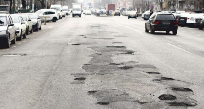Zonele cu cele mai multe gropi din Bucuresti
