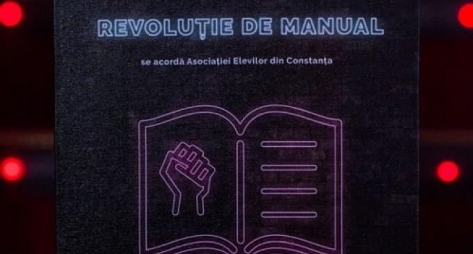 Asociația Elevilor din Constanța a fost premiată la cea de-a opta ediție a Galei Premiilor Participării Publice