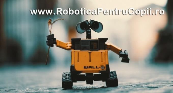 Lasa copilul tau sa isi puna creativitatea in aplicare prin intermediul unui curs de robotica