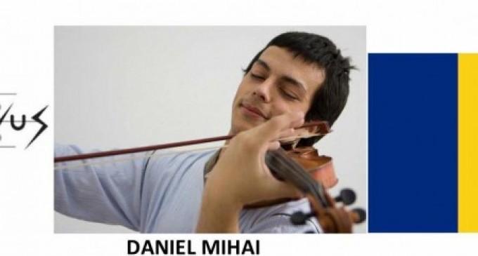 Tânărul violonist Daniel Mihai, Concert Extraordinar la Sibiu sambata 29 aprilie