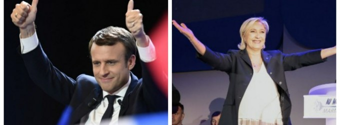 O analiză sumară comparativă între candidații Franței la fotoliul prezidențial- Emmanuel Macron și Marine Le Pen
