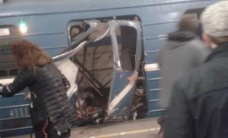 Atac terorist in Rusia: Explozii in metroul din Sankt Petersburg