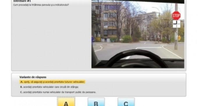Chestionare online conform noului cod rutier actualizat