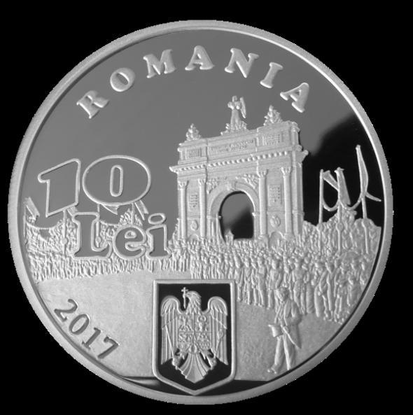 Moneda 10 LEI cap