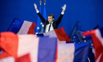 Emmanuel Macron a câştigat scrutinul prezidenţial şi va fi noul preşedinte al Franţei