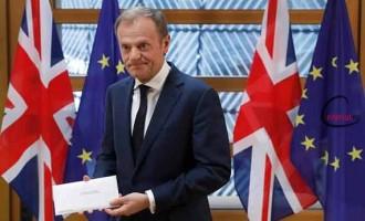 """""""Visele"""" comisarului Donald Tusk în legătură cu """"problema"""" Marii Britanii"""