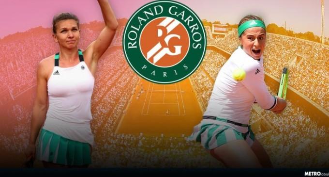 Simona Halep in finala de la Roland Garros. Eurosport si ProTV transmit meciul LIVE