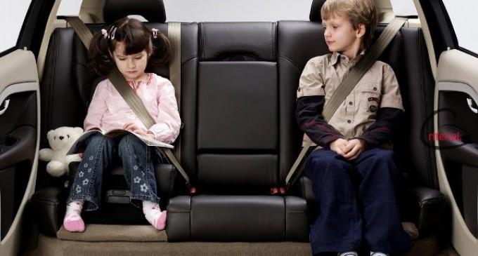 Siguranta copiiilor in timpul calatoriei