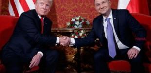 Vizita Istorica al lui Trump in Polonia