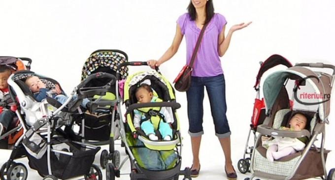 5 sfaturi UTILE de urmat atunci cand alegi caruciorul bebelusului tau