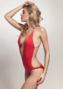 red swim