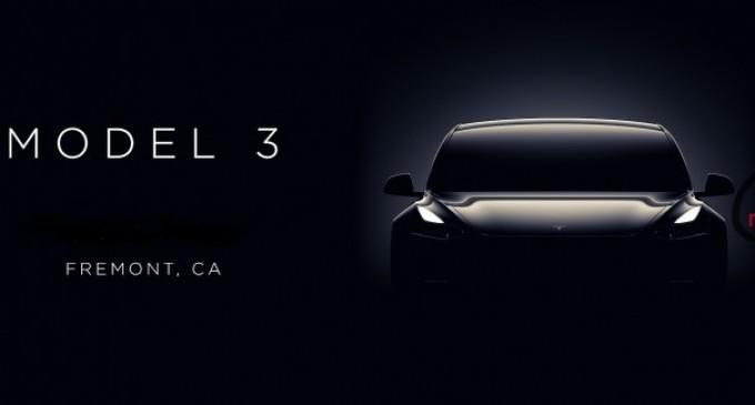 Modelul TESLA 3 este mai mult decât o mașină electrică