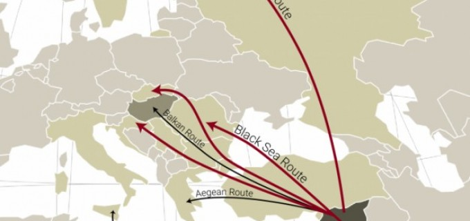 ALERTĂ! Marea Neagră devine noua rută a celor care încearcă să intre ilegal în România