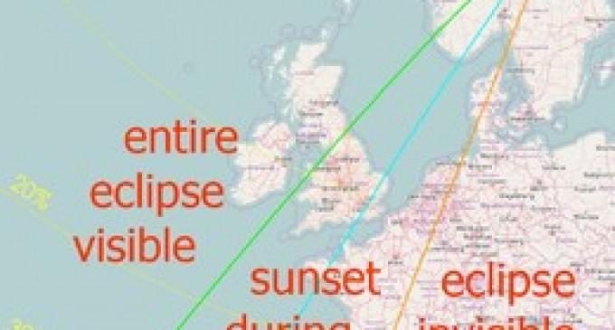 O eclipsă totală de Soare va avea loc la 21 august 2017