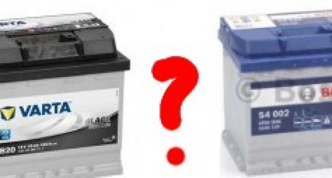 Ce baterie auto este mai buna?