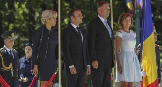 Ce rămâne după vizita președintelui francez la București