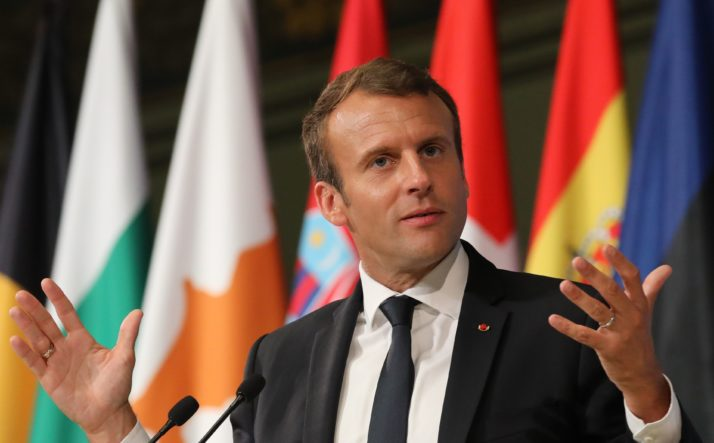 FRANCE-POLITICS-EU-DIPLOMACY