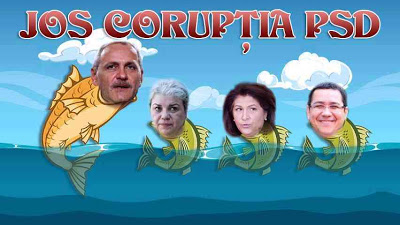 Jos coruptia PSD