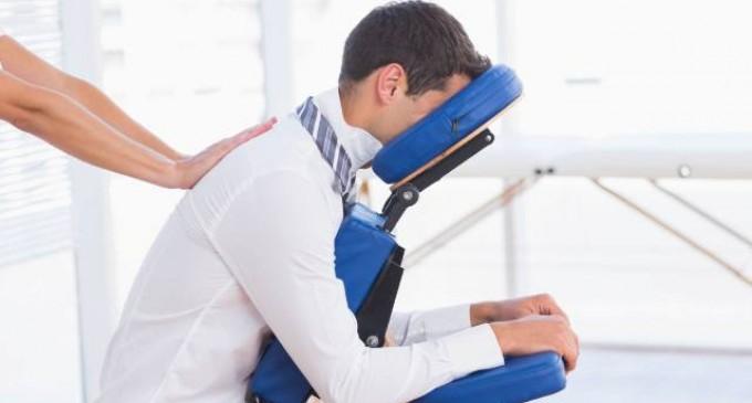 Apologia pentru un masaj terapeutic la job!