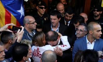 ULTIMA ORĂ! Doi lideri separatiști catalani au fost arestați