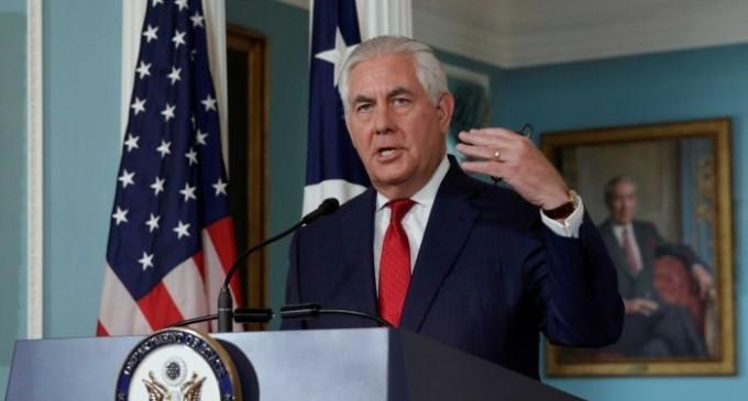 SCANDAL!Secretarul de stat american Rex Tillerson a negat existența unor neînțelegeri cu președintele Trump
