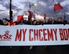 EVENIMENT!Zeci de mii de naționaliști au ieșit în stradă la Varșovia