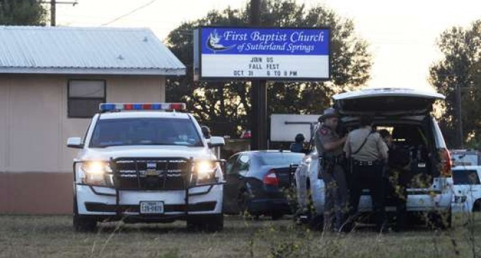 CINIC! În Texas, un bărbat a deschis focul într-o biserică și a ucis cel puțin 26 de persoane