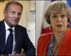 ACTUAL! Donald Tusk o va presa pe Theresa May în legătură cu negocierile privind Brexit-ul