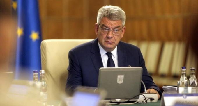 Premierul Tudose acuză BNR că nu a intervenit pentru a opri deprecierea leului