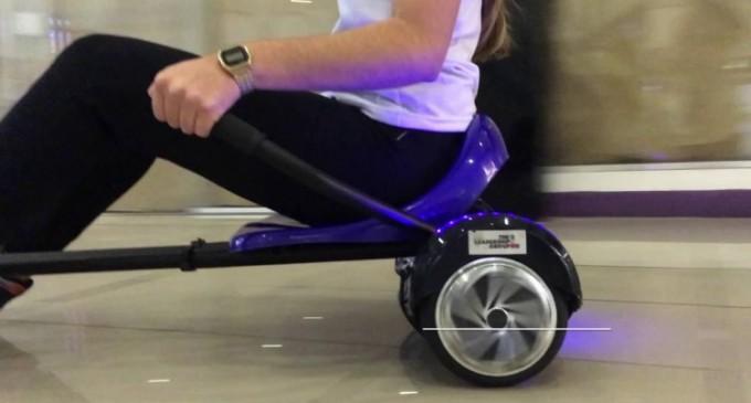 Hoverkartul, un update la fascinantul hoverboard