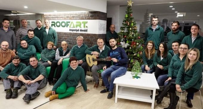 Primiți colindătorii? RoofArt a pregătit, și în acest an, o urare specială pentru clienții și partenerii companiei