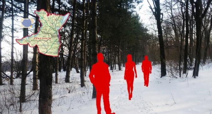 Generația DA grătare, NU mișcare are DEGEABA parcuri naționale… 28ian2018 -În Munții Măcinului este zăpadă cu soare…