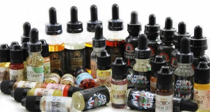 Care sunt cele 4 ingrediente de baza ale unui lichid pentru tigara electronica?