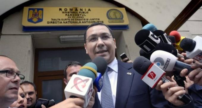 Victor Ponta a devenit ironic după ce a fost audiat la DNA în dosarul Tel Drum