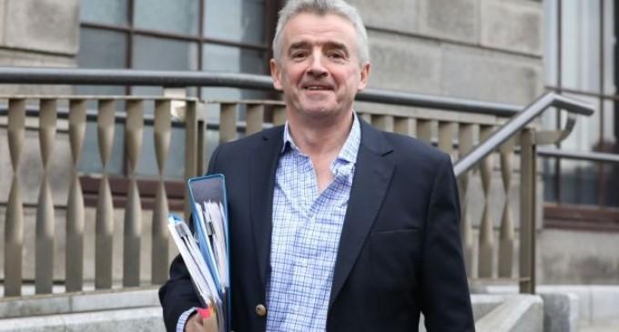 Șeful Ryanair Michael O'Leary a amenințat că va opri toate zborurile din Marea Britanie,imediat după Brexit