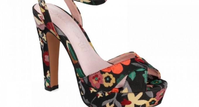 Sandale colorate primavaratic